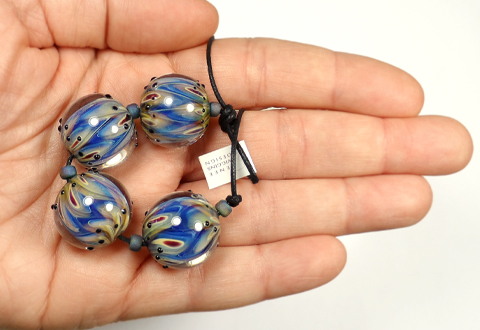 Renee Wiggins Design Peacock Beads